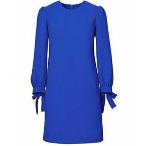 Banana Republic shift dress with bow sleeves